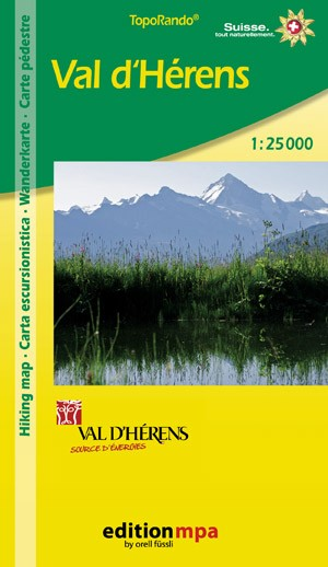 Val D'herens 1:25.000 Mpa