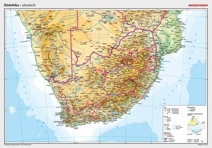 Zuid Afrika 1/3m Physik Westermann Plano