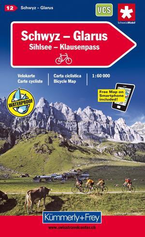Schwyz - Glarus 1:60d K+f Velo 12