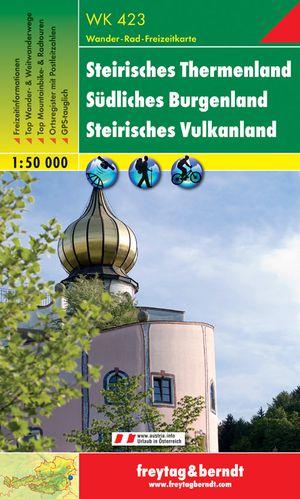F&B WK423 Steirisches Thermal Land, Südliches Burgenland, Steirisches Vulkanland