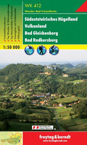 F&B WK412 Südsteirisches Hügelland, Vulkanland, Bad Gleichenberg, Bad Radkersburg