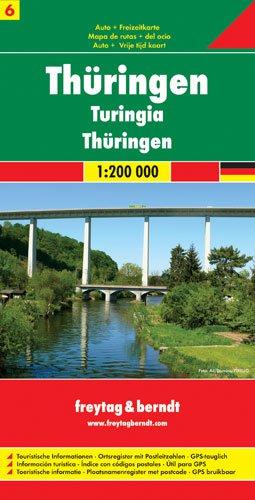 Deutschland 06 Thüringen 1 : 200 000