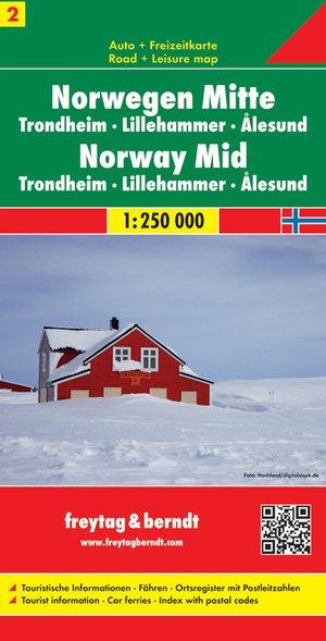 F&B Noorwegen 2, Midden, Trondheim, Lillehammer, Alesund