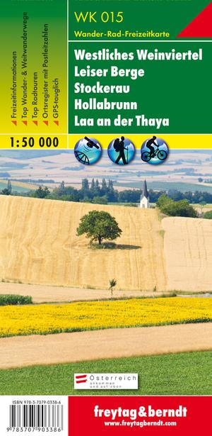 F&B WK015 Westliches Weinviertel, Leiser Berge, Stockerau, Hollabrunn, Laa a.d. Thaya