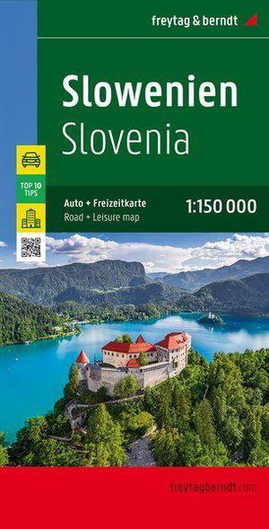 Freytag & Berndt wegenkaart Slovenië 1:150.000