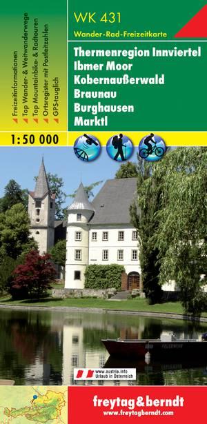 F&B WK431 Thermalregion Innviertel, Ibmer Moor, Kobernaußerwald, Braunau, Burghausen, Marktl
