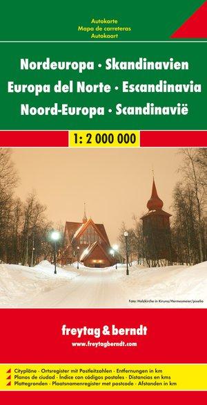 F&B Noord-Europa - Scandinavië wegenatlas