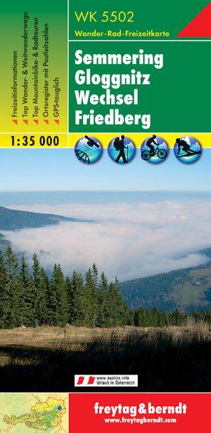 5502 Semmering - Gloggnitz - Wechsel - Friedberg