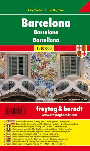 F&B Barcelona city pocket