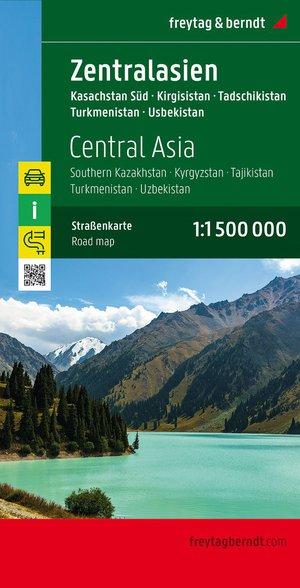 F&B Centraal-Azië - Zuid-Kazachstan, Kirgizië, Tadzjikistan,Turkmenistan, Oezbekistan