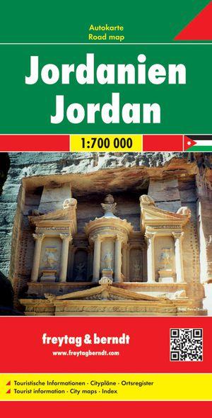 Freytag & Berndt Jordanië landkaart