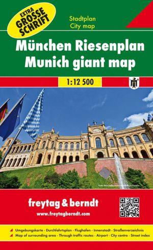 F&B München Stadskaart extra groot