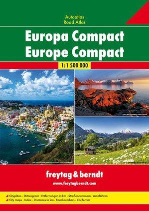 Europa Compact Wegenatlas F&B