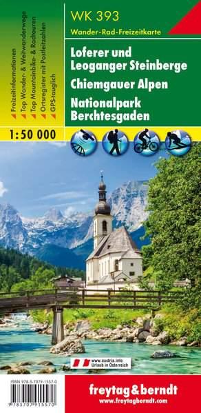 F&B WK393 Loferer und Leogang Steinberge Berchtesgaden