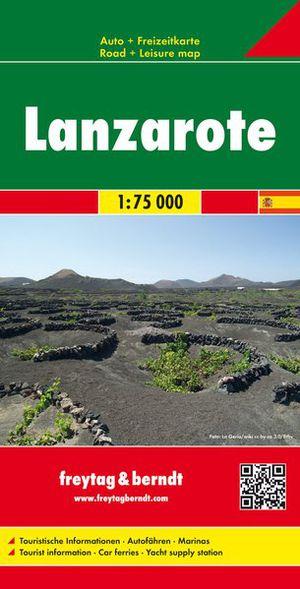 Lanzarote 1 : 75 000. Autokarte