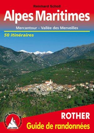 Alpes Maritimes guide rando 50T Mercantour/Val. Merveilles