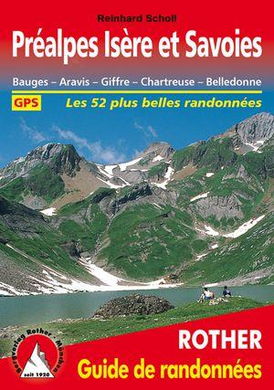 Préalpes Isère et Savoies guide rando 52 ét.