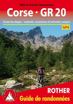 Corse GR20 GPS guide rando