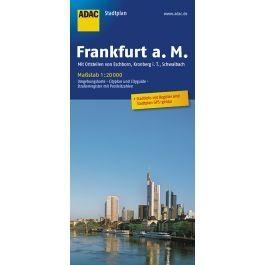 Frankfurt Am Main Adac Stadtplan