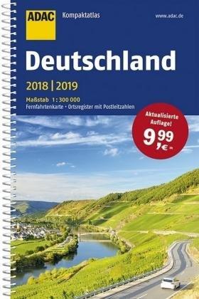 Adac Kompaktatlas Deutschland 2018/2019 1:300.000
