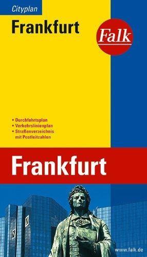 Frankfurt Stadtplan Falk