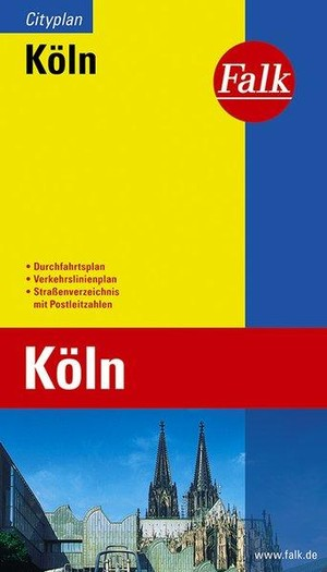 Köln Falk plattegrond