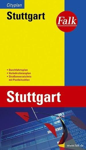 Stuttgart Falk plattegrond