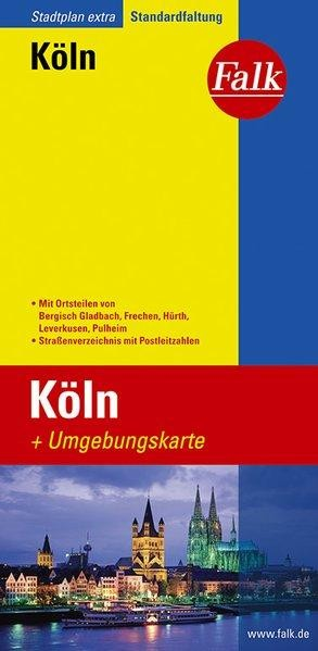 Köln / Keulen Falk plattegrond