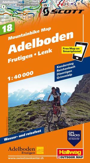 Adelboden Bike Map