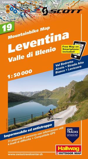 Leventina - Valle Die Blenio Bike Map