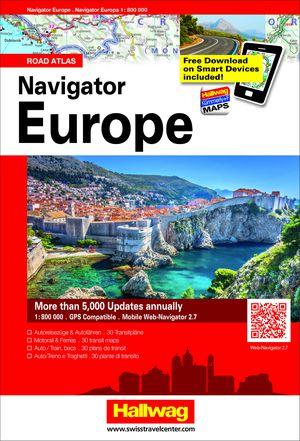 Europa atlas + web-navigator 2.7