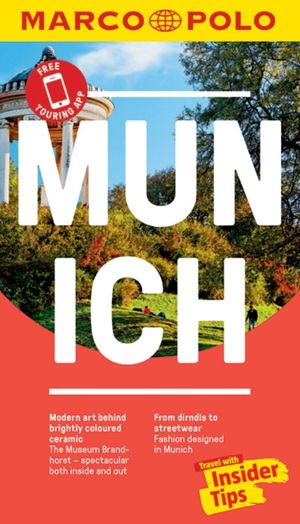 Munich Marco Polo Pocket Travel Guide 2018 - With Pull Out Map