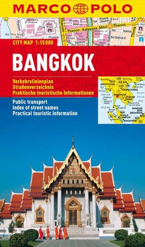 Bangkok Marco Polo City Map 1:15.000