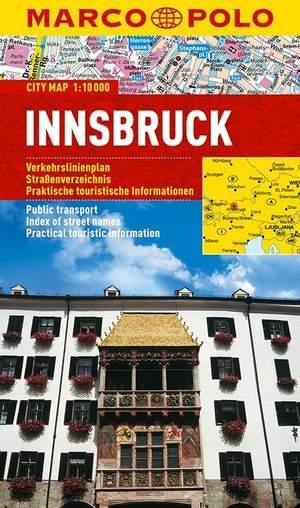 Marco Polo Innsbruck Cityplan