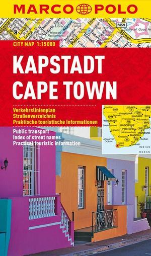 Kaapstad Marco Polo City Map 1:15.000