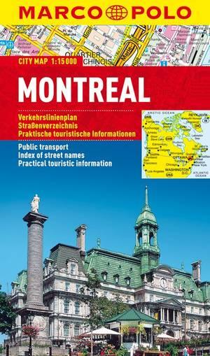 Marco Polo Montreal Cityplan
