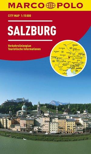 Marco Polo Salzburg Cityplan