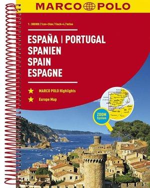 Spanien Spanje Portugal 1:300.000