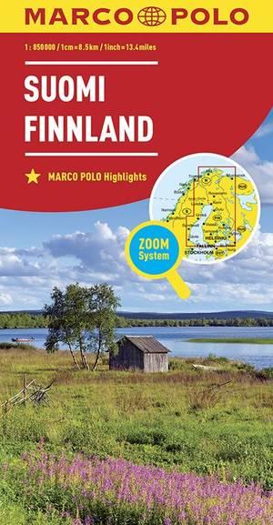 Finnland Finland 1:850.000