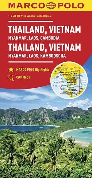 Marco Polo Thailand, Vietnam, Myanmar, Laos, Cambodja