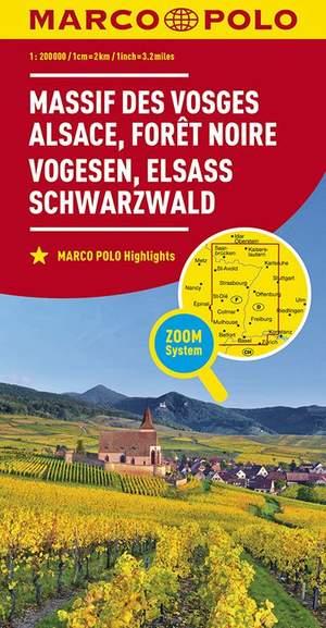 Marco Polo Vogesen, Elsass, Schwarzwald