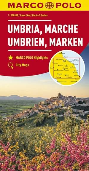 Mpk 08 Umbrien Marken Marche 1:200.000