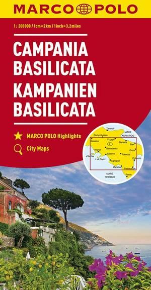 Mpk 12 Campania Basilicata 1:200.000