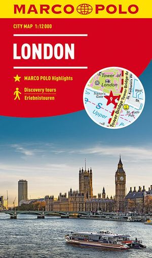 MARCO POLO Cityplan London 1:12 000