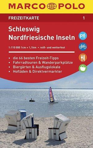 Marco Polo FZK01 Schleswig - Noord-Friese Waddeneilanden