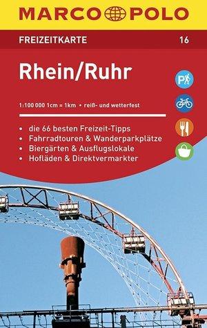 Rhein-ruhr Freizeitkarte 16 1:100.000