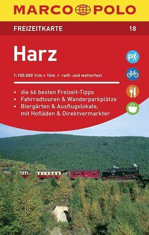 Harz Mp Freizeitkarte 18