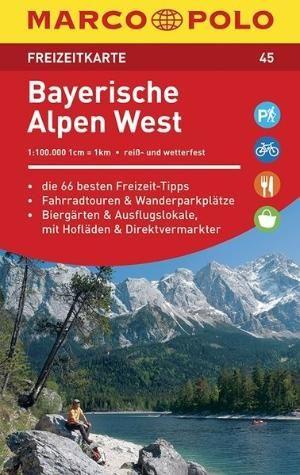 Marco Polo FZK45 Bayerische Alpen West