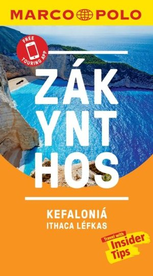 Zakynthos And Kefalonia Marco Polo Pocket Travel Guide 2019 - With Pull Out Map