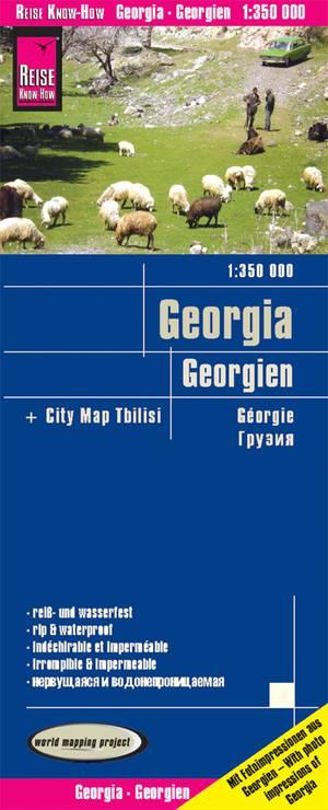 Reise Know-How Landkarte Georgien (1:350.000)